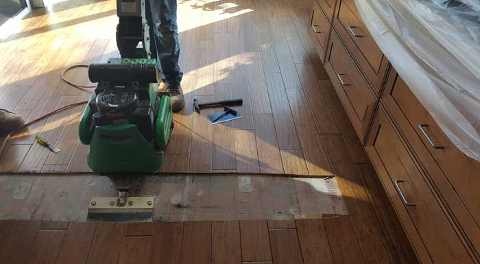 Dust Free Florida Wood Floor Removal Experts | Chicago Dustless